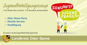 Jugendbeteiligungscamp des Landkreises Oder-Spree