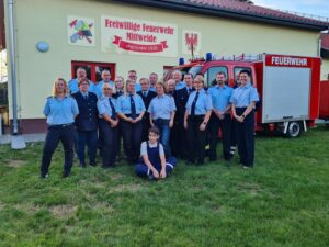 Mittweide hat neues Feuerwehrgerätehaus